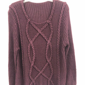 Redish Brown Knitted Sweater